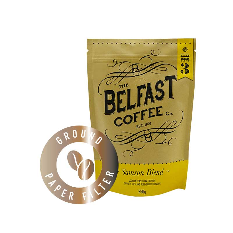 Belfast Coffee - Ground Paper Filter