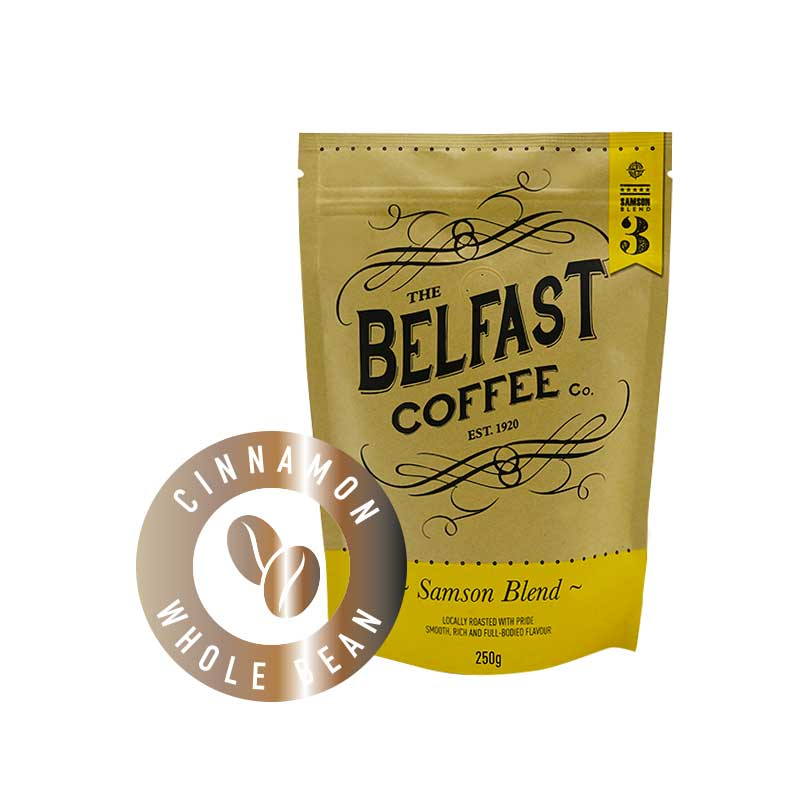 Belfast Coffee - Whole Bean Cinnamon