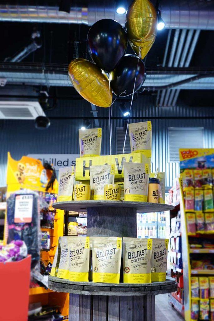 Belfast Coffee Shop Display Belfast